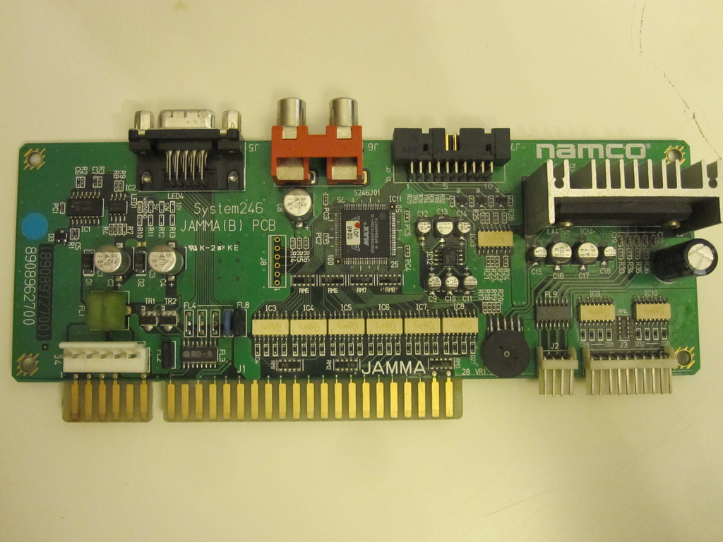 Namco System 246 256 Arcade Otaku Wiki 256b Ethernet Wiring Diagram System246 Jammab Pcb As