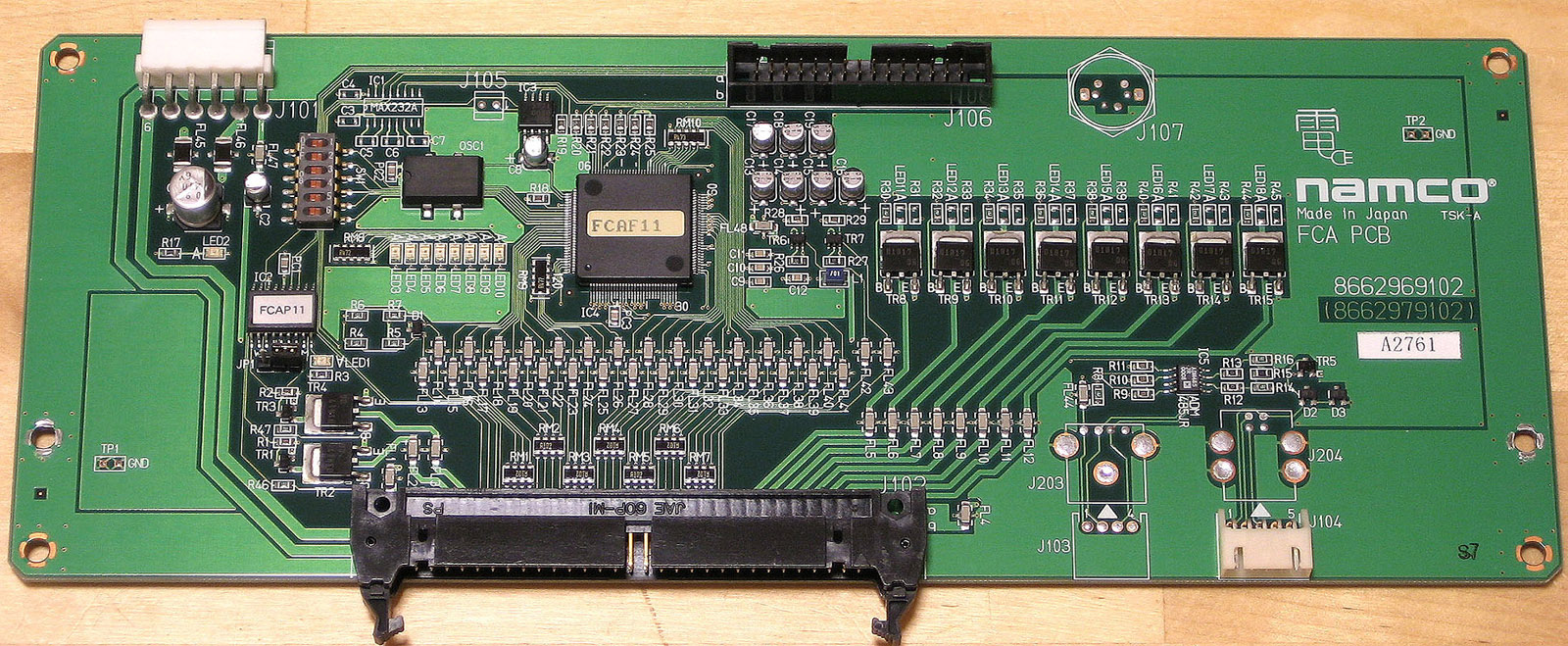 FCA_PCB namco system 246 256 arcade otaku wiki Theatre Diagram at aneh.co